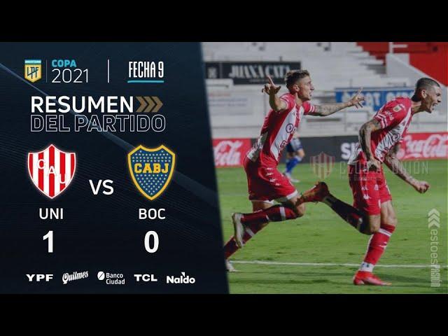 Copa De La Liga | Fecha 9 | resumen de Unión - Boca