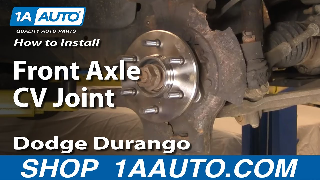 2005 chevy equinox suspension diagram power window kit installation auto repair: replace front axle cv joint dodge durango dakota 1998-03 - 1aauto.com youtube