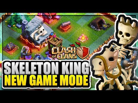 New Skeleton King's Campaign (New Game Mode) - CoC New Game Mode 2018   Clash Of Clans Concept