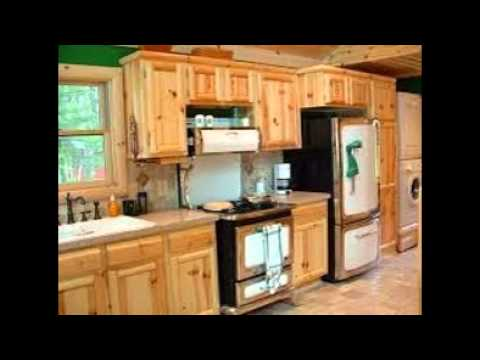 knotty pine kitchen cabinets - Knotty Pine Kitchen Cabinets