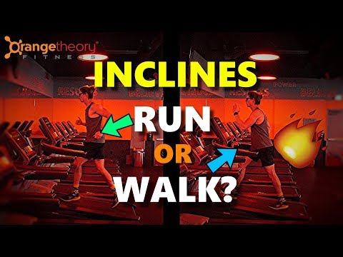 Should You Run Or Walk On Treadmill Inclines? [Orangetheory Workout]