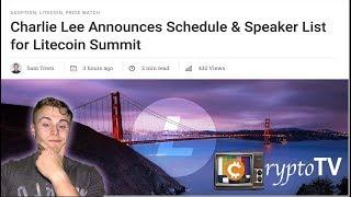 GREAT NEWS FOR LITECOIN! Charlie Lee/Litecoin Summit (Digibyte Analysis)
