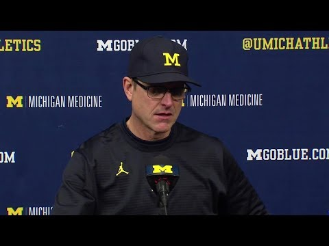 Jim Harbaugh Ohio State Postgame