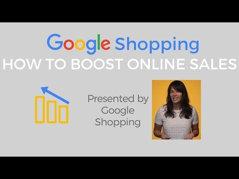 Google Shopping - How to boost online sales