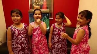 Aditi, Aakriti, Akshiti & Aapti on Enna Satham Indha Neram