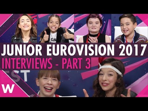 Junior Eurovision 2017 interviews: Malta, Italy, Ireland, Serbia, Portugal