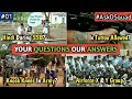 #AskDSquad - Knock Knees In Indian Army, Hindi During SSB, Airforce X & Y Groups   Part #01 (Hindi)
