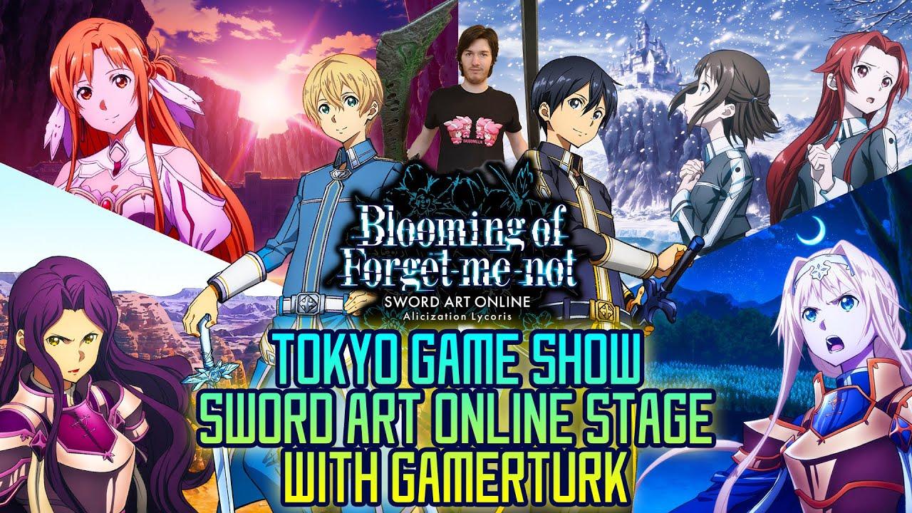 Download 🔴 Sword Art Online @ Tokyo Game Show - Alicization Lycoris and Rising Steel/Blading | SAO Gamerturk