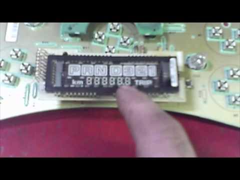 Instrument cluster gear select blank screen solder fix Chevrolet GM  PRND21 Odometer intermittant