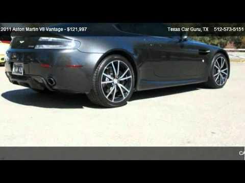 2011 Aston Martin V8 Vantage Sportshift N420 For Sale In Austin