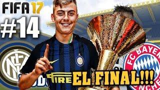 EL FINAL!!!! FIFA 17 Inter Modo Carrera #14 (Grande Dybala)