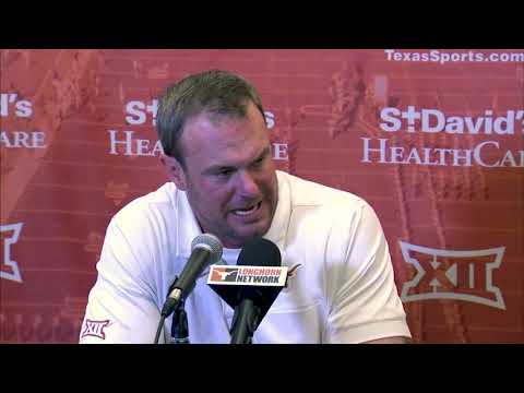 The Bottom Line - Tom Herman Addresses The Media Following The Texas Loss