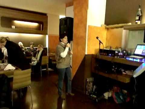 Karaoke pizzeria al duca di cividale 2 dicembre 2011