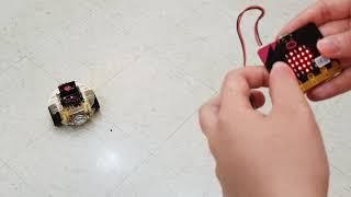 micro bit 搖控車