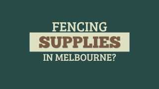 Quality Fencing Supplies Melbourne