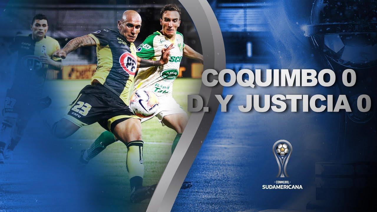 Coquimbo Unido vs. Defensa y Justicia [0-0]   RESUMEN   Semifinal   IDA   CONMEBOL Sudamericana