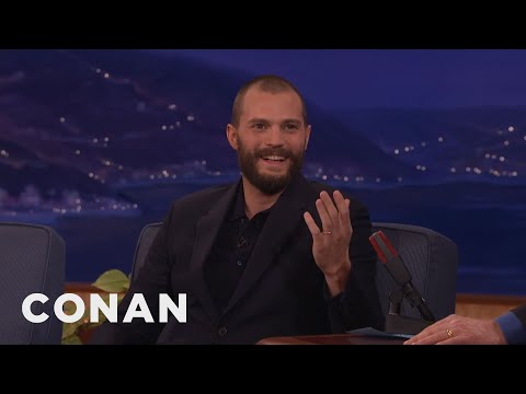 Jamie Dornan Puts On An American Accent At InNOut   CONAN on TBS