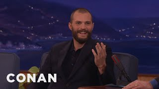 Download Jamie Dornan Puts On An American Accent At In-N-Out  - CONAN on TBS Mp3 and Videos