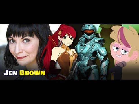 JEN BROWN talks SUPANANOVA, horror movies and more on Everblack Nerdcast