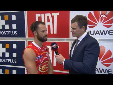 RD15: Nick Malceski Post-Game (Fox Footy)