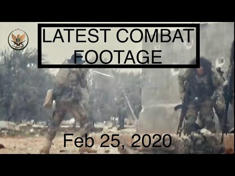 The Syrian Civil War - Feb 25, 2020
