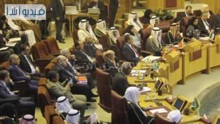 بالفيديو :امين عام جامعة الدول العربية امام المؤتمر الثاني للبرلمان العربي ورؤساء البرلمانات العربية