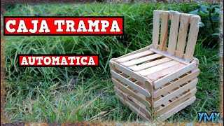CAJA Trampa Para Aves Automática Casera| TUTORIAL| YMX supervivencia