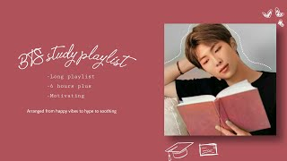 [NO ADS!] BTS study and productivity playlist/ long playlist