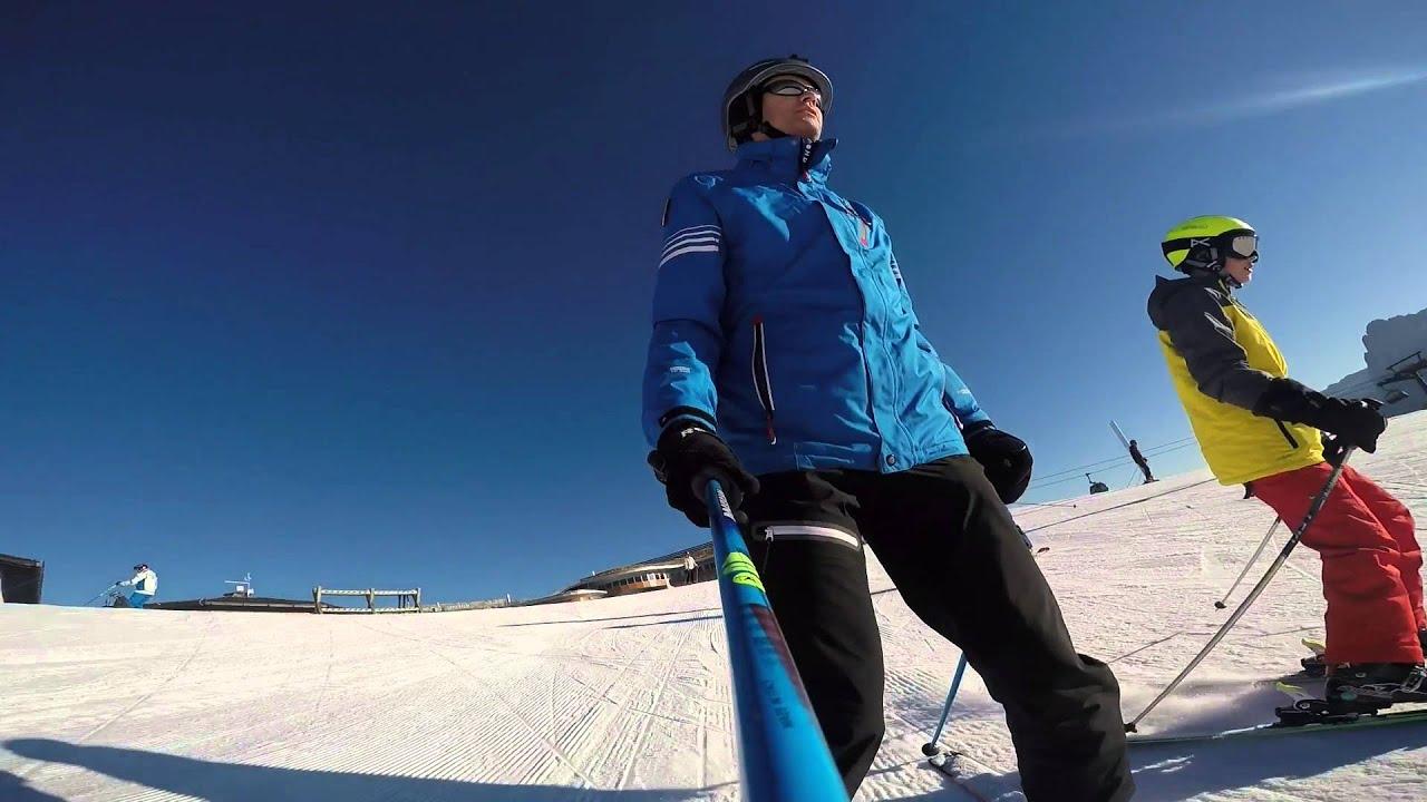 Skiing in switzerland   spencer & alex