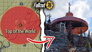 Fallout 76 | What Happens if You Nuke Top of the World? (Fallout 76 Secrets)