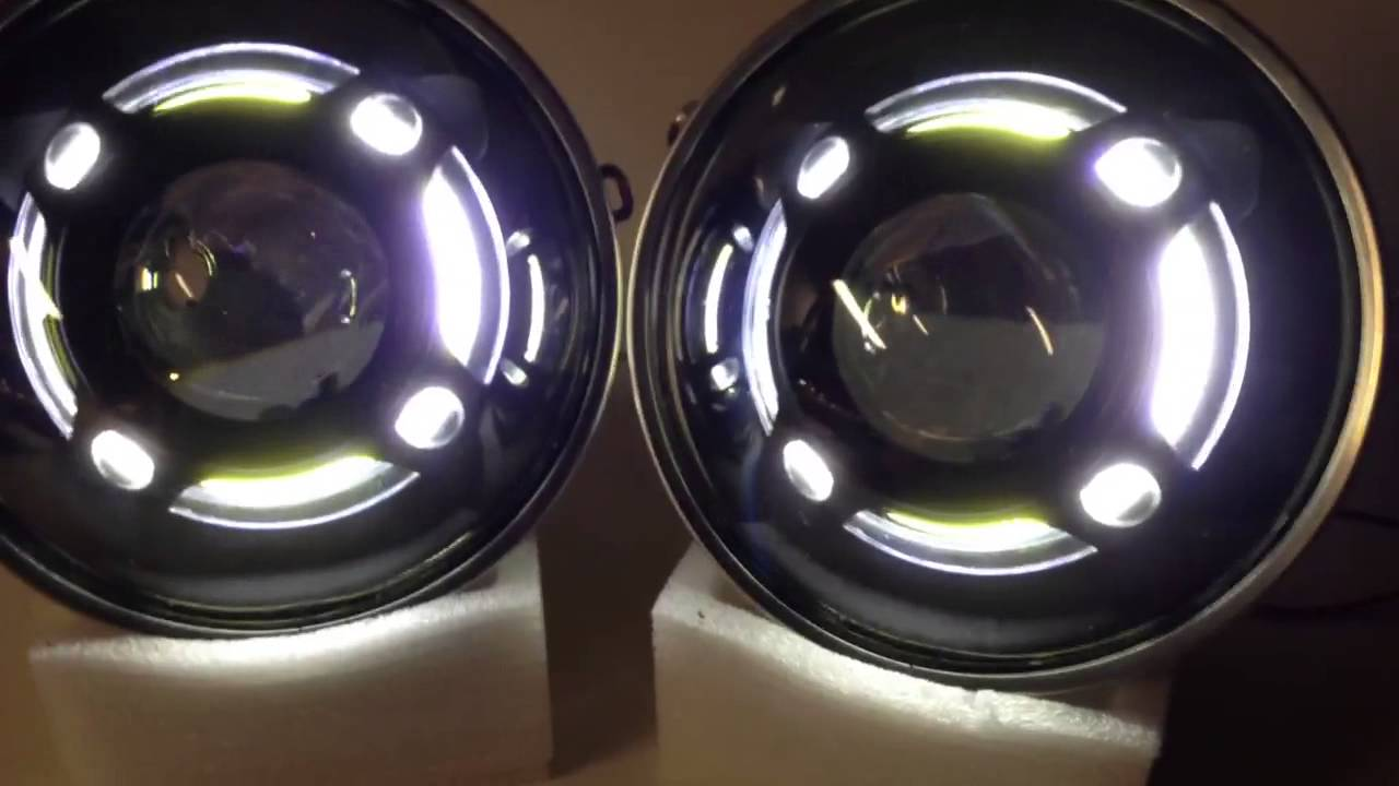 Custom Jeep Patriot >> HIDprojectors Panamera Shroud Retrofitted Headlights for Jeep Wrangler JK - YouTube