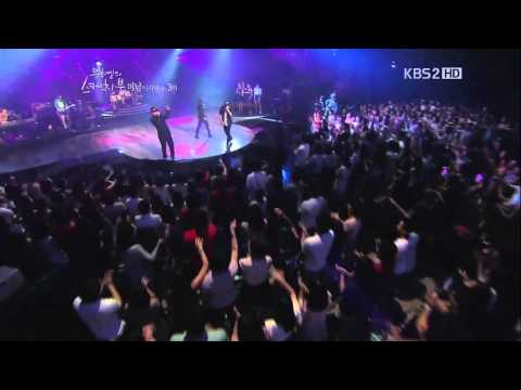 리쌍 (LeeSsang) & 정인 (Jung in) - 발레리노 (Ballerino) (120120, HD Live)