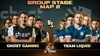 Ghost vs Liquid, Map 2 Dust 2 - cs_summit 4: Group Stage - Ghost Gaming vs Team Liquid G2