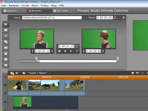 Pinnacle Studio 14 Videoeffekte mit der Toolbox