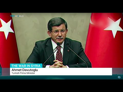Davutoglu urges Syrian opposition group to join peace talks in Geneva