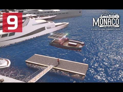 Custom Ferry Lines - Cities Skylines: Project Monaco - EP 9