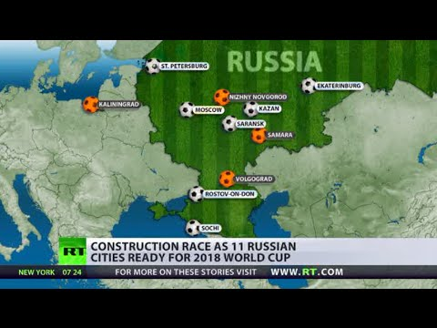 Build it & they will come: Russia's race for World Cup 2018