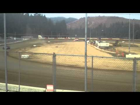 8 22 15 late model heat coos bay speedway