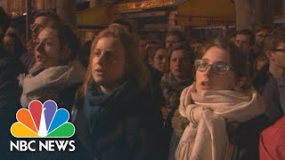 Watch: Bystanders Sing Hymns As Notre Dame Burns | NBC News