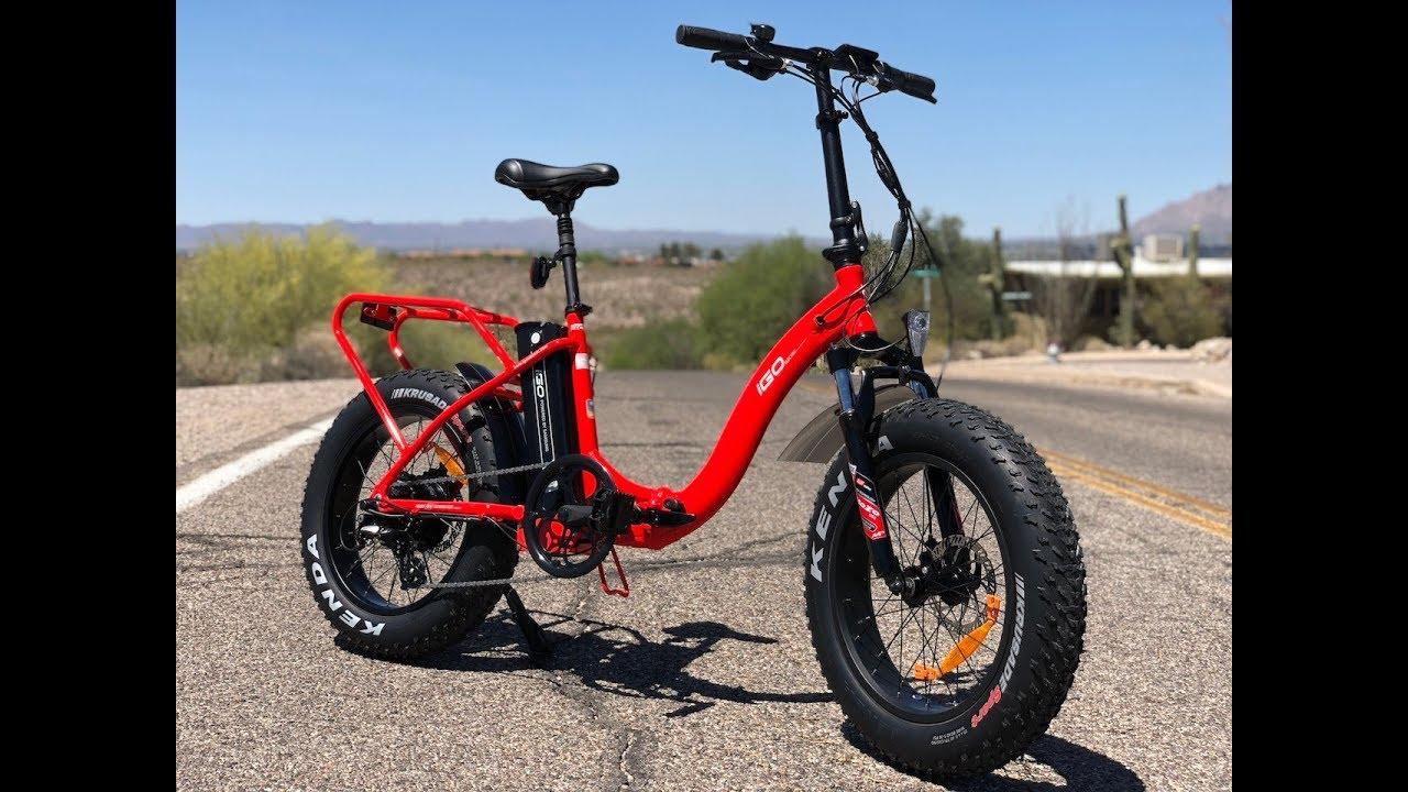 Igo Fat Folding Electric Bike Review
