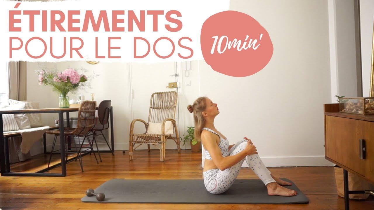 Séance de Yofit : 10 minutes de relaxation & d'étirements pour le dos