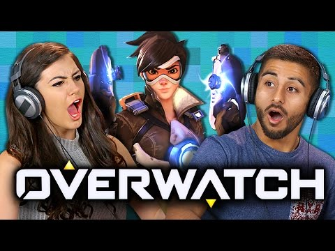 Thumbnail: OVERWATCH (Teens React: Gaming)