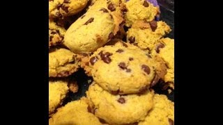 Super Easy Pumpkin Chocolate Chip Cookies (gluten Free)