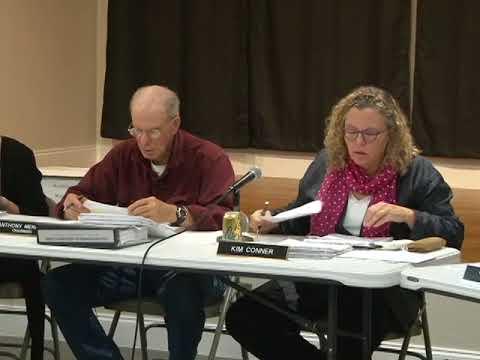 Philipstown Planning Board Meeting October 19, 2017
