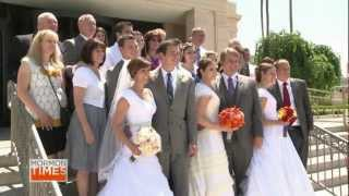 Mormon Mega Wedding