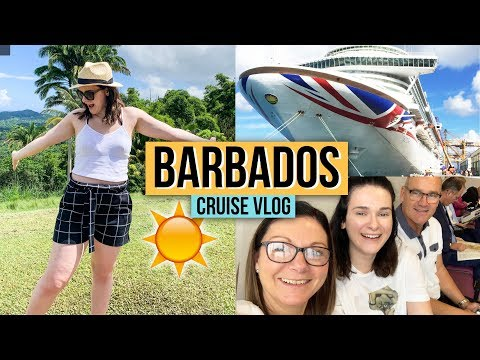 GOING TO BARBADOS!! 🏝Cabin Tour & Seeing Rihanna's House | Caribbean Cruise Vlog