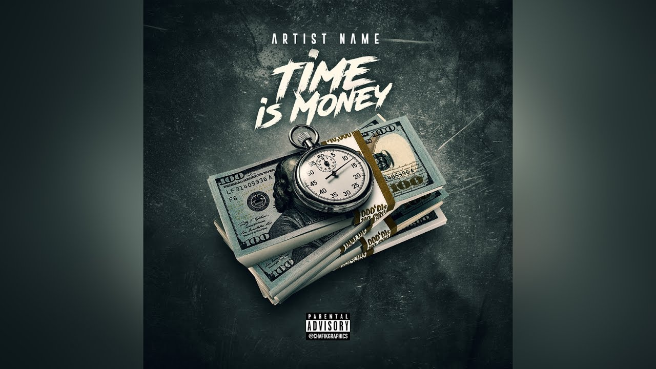 Download How To Make a Mixtape Cover In Photoshop   Time is Money V.2