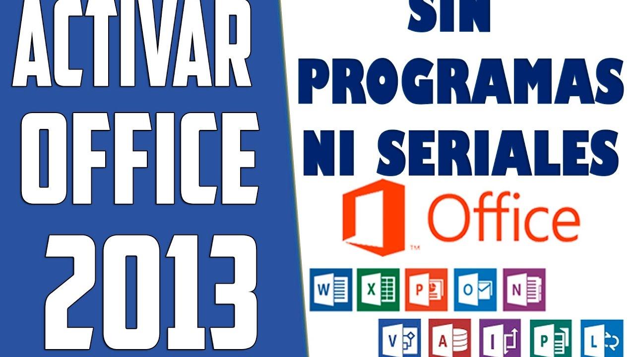descargar gratis programa para activar microsoft office 2013
