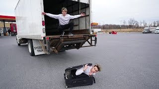 DO NOT SHIP YOURSELF ACROSS THE WORLD IN A TRUCK!