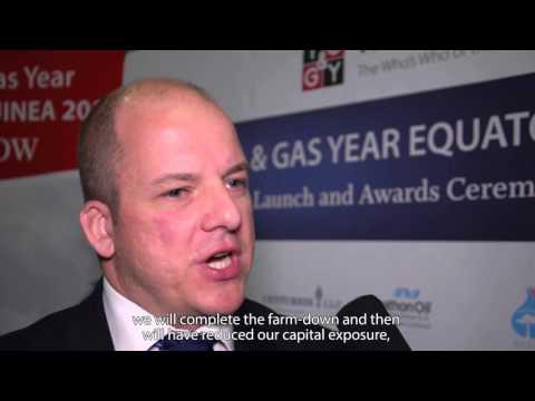 Simon Smith, Equatorial Guinea Asset Manager of Ophir Energy talks to TOGY